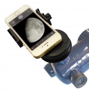 天体望遠鏡に取り付け例