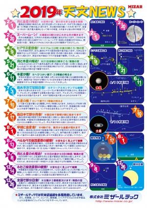 天文ニュース2019